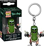 Funko Pop! Rick & Morty - Keychain Pickle Rick In Rat Suit...