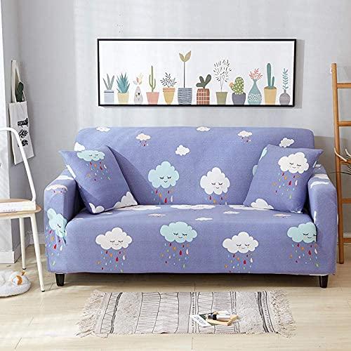 Funda de sofá en Forma de L, Funda de sofá seccional elástica Funda de sofá en Forma de L Funda de sillón en Forma de L-2_90-140cm, Fundas Fundas de sofá de Tela de poliéster