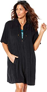 Swimsuits for All Women's Plus Size Terry Swimsuit Cover Up