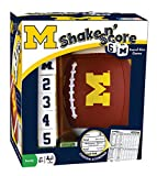 MasterPieces NCAA Michigan Wolverines Shake N' Score Travel Dice Game