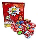 Taste Beauty Ryan's World Fun Fizzer Scented Bath Bombs with Surprise Inside (16 Bath Bombs)