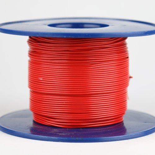 Kabel 0,5 qmm rot 1m
