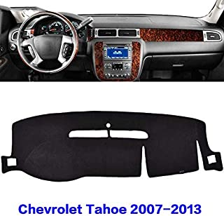 YRCP Dashboard Cover Carpet - Fits Chevrolet Tahoe 2007-2013 Models with, Left Driving (Black) MR024