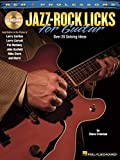 Reh Pro Licks Jazz-Rock Licks For Guitar With Tab Book/Cd