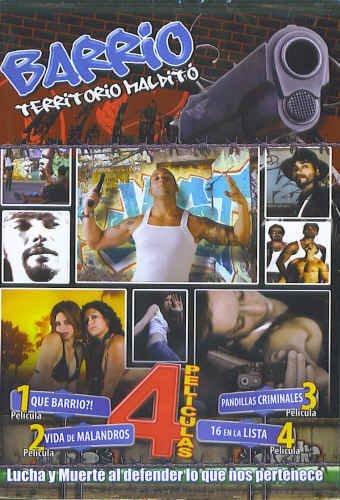 Barrio Territorio Maldito - 4 Peliculas (Spanish DVD) by Carlos Cardan