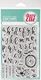 Avery Elle Modern Calligraphy Clear Stamp Set 4'X6'
