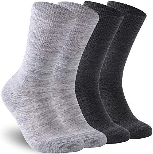 Fashion Diabetic Socks Feelwe Womens Mens Warm NEW before selling ☆ Wool Wi Crew Merino