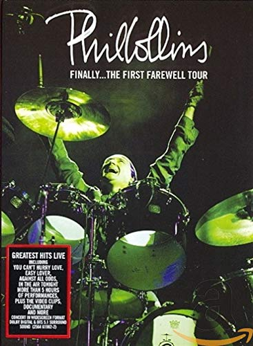 Phil Collins - Finally ... The first Farewell Tour inkl. Booklet [2 DVDs]