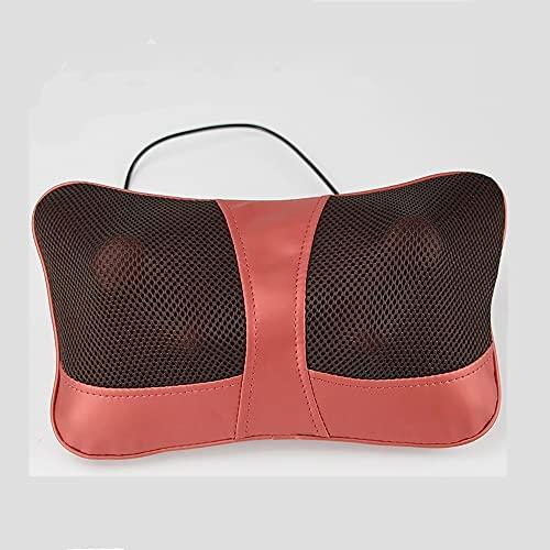 Rrooty Cojines de Masaje multifuncionales for el Cuello, Cintura, piernas, Hombros y Espalda, Coche y hogar cojín eléctrico