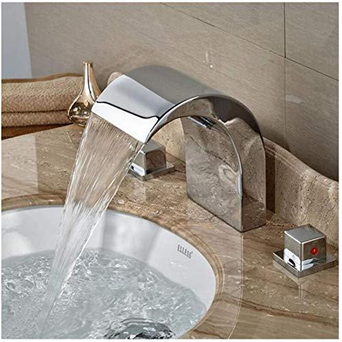 Waterkraan keuken badkamer wastafel wastafel wastafel dubbele greep moderne breedte Ctzl1356