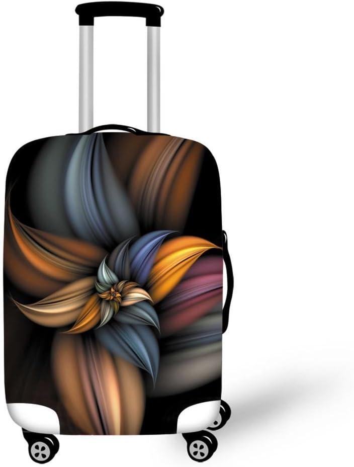 22-26 Cover Gris, M CAIWEI Couverture de Bagages Fleurs Garde Votre Valise de Voyage Propre et prot/ège