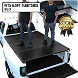 DNA Motoring TTC-HARD-006 Truck Bed Top Hard Solid Tri-Fold Tonneau Cover Replacement For 04-14 F150 6.5Ft Fleetside Bed