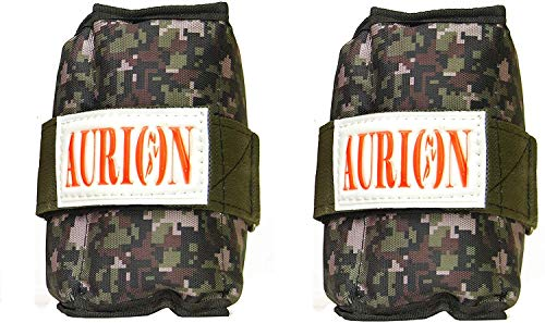 Aurion AW9595-2KG X 2 Wrist/Ankle Weights (Multicolour)
