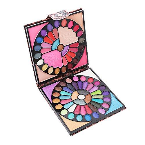 Bureze Luckyfine Peacock Lidschatten-Palette matt schimmernd Rouge Earth Tone Lidschatten Make-up