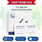 100pcs 75% Alcohol prep pad, Hand...