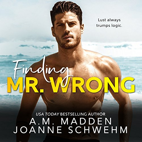 Finding Mr. Wrong audiobook cover art