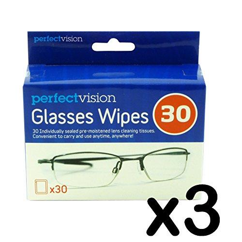 Glazen doekjes Fine voor gebruik op kunststof of glazen lens
