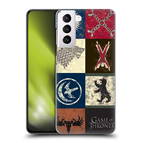 Head Case Designs Officially Licensed HBO Game of Thrones House Sigils Battle of The Bastards Hard Back Case Compatible with Samsung Galaxy S21+ 5G