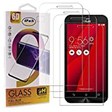 Guran 4 Pezzi Pellicola Protettiva in Vetro Temperato per ASUS Zenfone Go ZB500KL Smartphone 9H Durezza Anti-Impronte HD Alta Trasparenza Pellicola