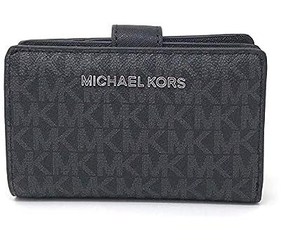 Michael Kors Jet Set Travel Saffiano Leather Bifold Zip Coin Wallet