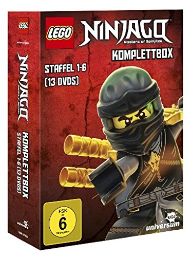 Lego Ninjago Komplettbox - Staffel 1-6 [13 DVDs]