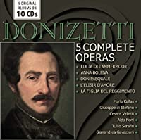 Donizetti: 5 Complete Operas by Various Artists