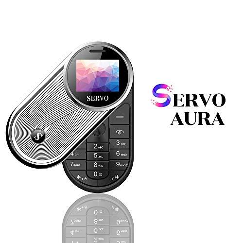 Servo Small GSM Slide 360 drehen Mini-Handy mit Kamera Bluetooth Dialer-Funktion(Black)