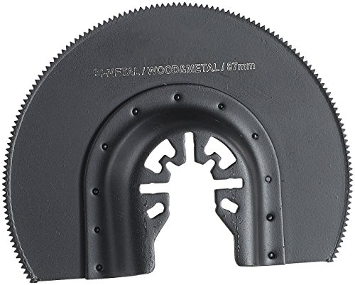 AGT Professional Bimetall-Rundsägeblatt für Multitools, 87 mm, HSS, Schnellspannung