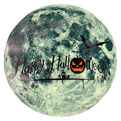 NUOBESTY - Adhesivo luminoso para Halloween, brilla en la oscuridad, para fiestas de Halloween, ventanas, oficinas, decoración de bromas