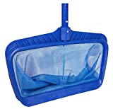 Professional Heavy Duty Deep-Bag Pool Rake, Blue (Extra Strong)