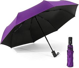 مظلة فيست نايت ذاتية الفتح/الإغلاق ومظلة واقية من الشمس والمطر محمولة للسفر ومظلة واقية من الشمس