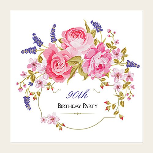 90th Birthday Invitations Amazoncouk