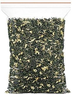 Dianmai 150g / 5.3oz Bi Tan Piao Xue Jasmine Green Tea Loose Leaf - Chinese Mao Feng Green Tea with Jasmine Flowers - Yuqi...