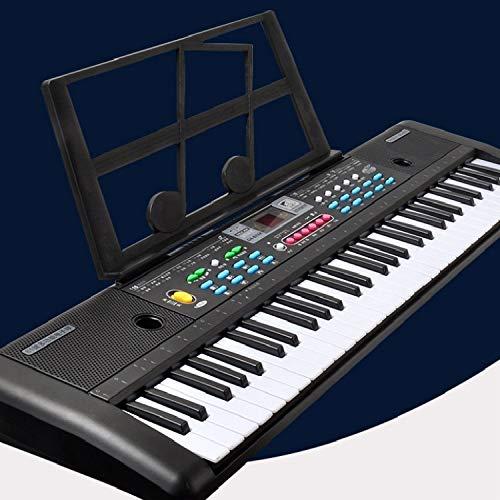 Xyamzhnn Clavier for Enfants Grand 61 clés Instrument de Musique Jouet, Spécification: CN Fiche