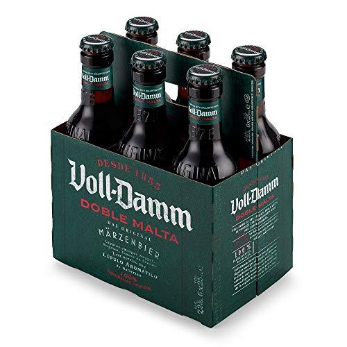 Damm Cerveza Doble Malta, 6 uds