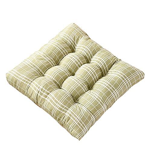 HMCUIQI Almohadillas de silla y cojines, Cojín de asiento para sillas de comedor, cojín de asiento para sillas de comedor, para aliviar el dolor de presión, para taburete alto Bistro Bar Seat
