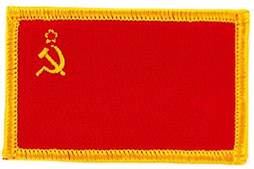 Patroon, geborduurd, vlag UdSS, CCCP, Russisch, Sovjet-Unie