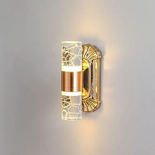 NStar Applique Murale Intérieur Lampe Murale LED, 6W Up Down Réglable Moderne Acrylique Luminaire pour d'intérieur Couloir...