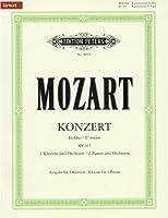 モーツァルト : 2台のピアノのための協奏曲 変ホ長調 KV 365/ペータース社/3台ピアノ6手用編曲