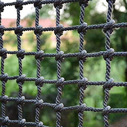 Amacthysh Kinder-Klettergerüstnetz, Kletter-Frachtnetz-Seilleiter, Robustes und langlebiges Polyamid-Sicherheitsnetz im Freien, für Kinder im Innen- und Außenbereich,2 * 4m/6.6 * 13.12ft