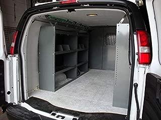 True Racks Van Shelving Storage System - Package 3 pc. Set for Full Size Van
