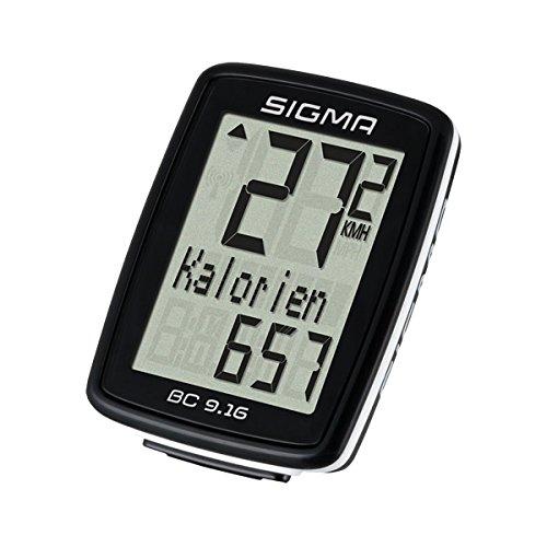 _SIGMA Fahrradcomputer BC 9.16 kabelgebunden schwarz