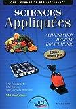 Sciences Appliquées - Cap - Eleve - Maj 2011 by Jf. Augez Sartral (2011-01-01) - Editions Bpi - 01/01/2011