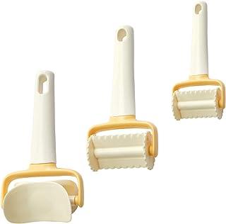 JUHONNZ Emporte Pièces Set,3 Pcs Moule Biscuit Coupe Pate,Rond Carré Rectangulaire Engrenage Découpoir Multifonctions Acce...