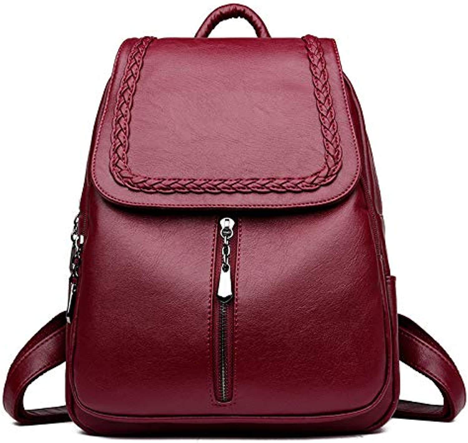ASHIJIN Womens Backpack, Leather Backpack, Backpack for Women, Fashion Designer Backpacks for Girls