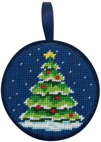 Alice Peterson Stitch-Ups Christmas Tree Needlepoint Ornament Kit