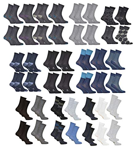 Dim Socks And Underwear. - Chaussettes homme DIM en Coton Confort et Elegance -Assortiment modèles photos selon arrivages- Pack de 10 paires Surprise 39/42