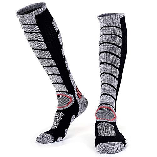 Ski Sokken 1 paar Pack voor skiën, snowboarden, bergbeklimmen, wandelen, koud weer, winter performance sokken voor mannen of vrouwen