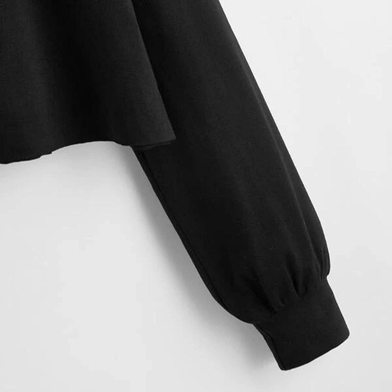 Tie Dye Hoodies for Teen Girl Women Long Sleeve Crop Tops Hooded Sweatshirt Lightweight Pullover Shirt Blouse