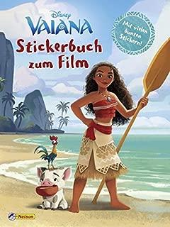 Disney Vaiana: Stickerbuch zum Film